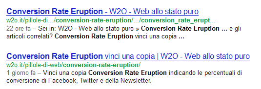 attachment duplicazione serp