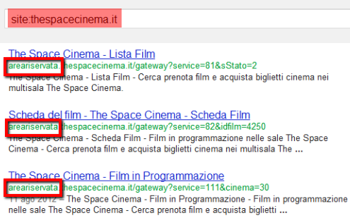 site the space cinema