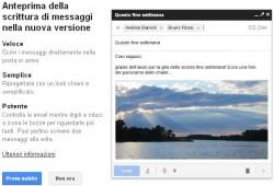 Autorizzazione utilizzo Nuova interfaccia Gmail