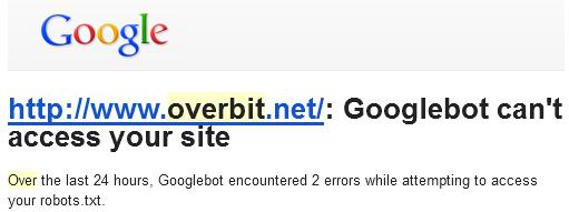 alert google