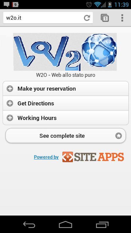 w2o siteapps
